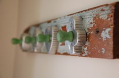 Vintage Cookie Cutter Wall Rack