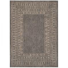 In & Outdoor Teppich Marea - Kunstfaser - Congo Grau - 160 x 231 cm