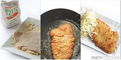 Kotlet schabowy: in its most traditional form, this pork cutlet is coated with breadcrumbs, fried on lard, and served with potatoes and browned or pickled cabbage. Communist leadership in Poland erased pre-war Polish cooking traditions and made the kotlet schabowy a star dish – the food of the perfect Stakhanovite. After communism, this Polish schnitzel was snubbed by the elite, but it continues to be a popular traditional Polish dish. Photo: Tasty Colours Blogspot.