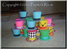 DIY Handmade KIT  Top Hat Alice In Wonderland Set  by PepitosRoom