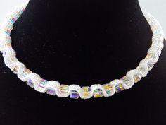 Bridal Necklace Swarovski Necklace Vintage by DesignByIrenne