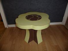 Mini table de salon fleur
