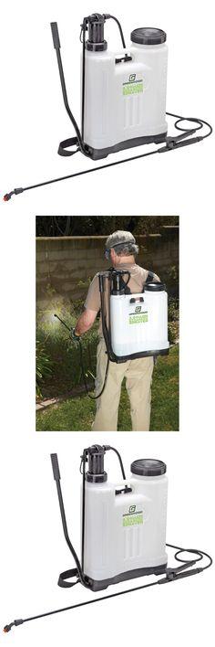 Garden Sprayers 178984: 4 Gallon Backpack Pesticide Fertilizer Garden Sprayer With 4 Nozzles Free Fedex -> BUY IT NOW ONLY: $39.77 on eBay!