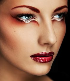 DIY Halloween Makeup : Stunning Photography
