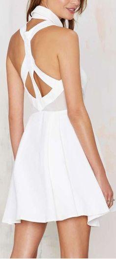 Cage Back Dress ❤︎