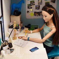 Barbie Dolls Diy, Barbie Fashionista Dolls, Barbie Model, Barbie Hair, Barbie Doll House, Barbie Life, Vintage Barbie Dolls, Barbie World, Barbie Clothes