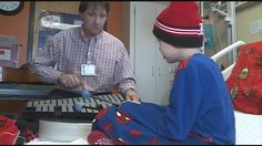 Every week, hundreds of kids at Kosair Children's Hospital look forward to a visit from a very special therapist.