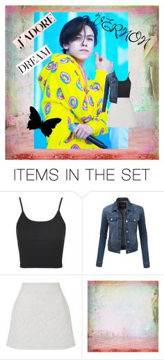 """Welcoming my newly found bias from SEVENTEEN: VERNON!"" by saranghai ❤ liked on Polyvore featuring art"