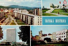 FOTO: Dobové fotografie pohľadníc z mesta pod Urpínom - Bystrica24.sk