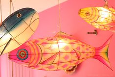 fish lanterns from kitsch kitchen via  sf girl by bay