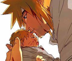 A Father's Goodbye to Naruto Naruto y Minato ❤❤💙💙 Naruto Minato, Naruto Sad, Manga Naruto, Naruto Cute, Itachi, Photo Naruto, Naruto Images, Naruto Pictures, Naruto Pics