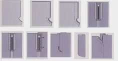 El costurero de Stella: Una forma fácil de colocar una cremallera a un pantalón