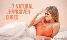 You can suffer through the day and curse the sight or smell of alcohol, or you can try some at-home natural hangover cures that can get you on the path to feeling better and facing the day. Natural Hangover Cure, Hangover Remedies, Health And Wellness, Health Fitness, Best Breakfast, Healthy Drinks, Natural Remedies, Feel Good, Detox
