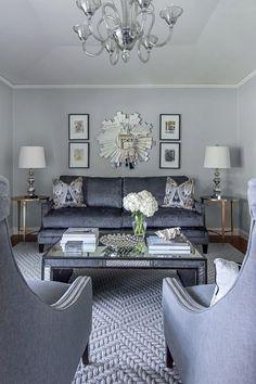 Emily Larkin: EJ Interiors - Living Room design by Emily Johnston Larkin of EJ Interiors LOVE IT