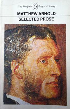 Matthew Arnold  'selected prose' Vintage penguin