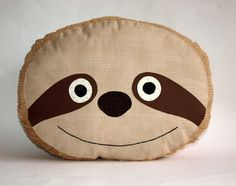 Sloth pillow cushion plush PDF Sewing Pattern by TheMinersWife, $8.00