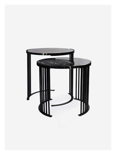 Lex series in a nesting marble coffee table version. Striking and bold. #design #coffee #tables #marble #lounge South African Design, Dark Horse, Black Marble, Steel Frame, Modern Furniture, Stool, Coffee Tables, Lounge, Home Decor