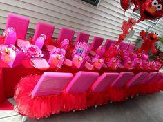 "Elmo for Girls / Birthday ""Happy 1st Birthday w/Elmo"" | Catch My Party"