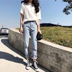 Tolle koreanische Mode-Outfits 45937 Source by The post Korean Fashion Trends, Korea Fashion, Asian Fashion, Look Fashion, Trendy Fashion, Korean Fashion Summer Street Styles, Grunge Fashion, Korea Summer Fashion, Korean Street Styles