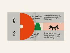 Album cover for Lullatone by anna kövecses, via Behance