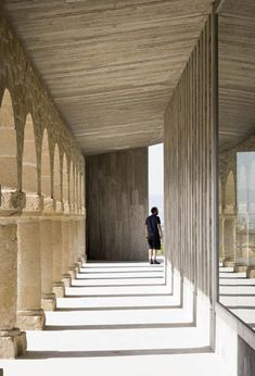 Shrine of the Virgin of La Antigua by Otxotorena Arquitectos #architecture #religious-buildings