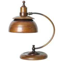 Machine Age Desk Lamp | From a unique collection of antique and modern table lamps at https://www.1stdibs.com/furniture/lighting/table-lamps/
