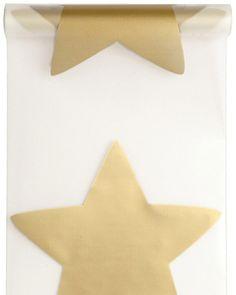 Camino de mesa estrella dorada 10 m Disponible en http://www.vegaoo.es/p-214476-camino-de-mesa-estrella-dorada-10-m.html?type=product