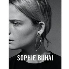 Pearl Oyster earring. Sophie Buhai FW16