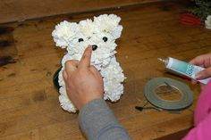 Smile Blog: How to Make a Flower Puppy