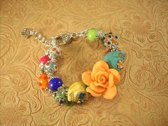 Hey, I found this really awesome Etsy listing at http://www.etsy.com/listing/111679571/gypsy-cowgirl-bracelet-chunky-howlite