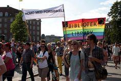 LGBT Danmark, Homo med forsinkelse, Copenhagen Pride Parade 2012. Foto: Nadine Lensborn