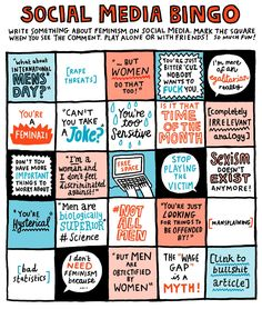 gemma correll's tumblr of things and stuff — thenib: From Gemma Correll. From The Feminist...
