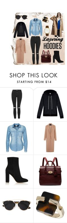 """Layering Hoodies Contest"" by juliamella on Polyvore featuring Topshop, Splendid, Vero Moda, Lanvin, Gianvito Rossi, Mulberry, DKNY, Christian Dior, Larsson & Jennings and women's clothing"