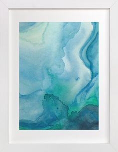 Under Water by Chelsey Scott at minted.com Abstract Watercolor, Abstract Art, Watercolour, Plakat Design, Water Printing, Water Walls, Water Art, Illustration, Wall Art Prints