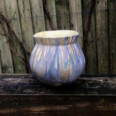Large bowl decorated with glazes reduction fired Large Bowl, Stoneware, Glaze, Fire, Ceramics, Beautiful, Home Decor, Enamel, Ceramica