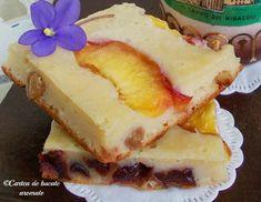 Cookie Recipes, Dessert Recipes, Romanian Desserts, Unique Recipes, Sauce Recipes, Food Art, Sweet Treats, Cheesecake, Deserts