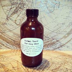 Fresh Picked Beauty: Herbal Toner for Oily Skin