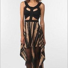 Reverse High Low Cut Out Dress ** NWT NEVER WORN ** // WILLING TO TAKE OFFERS!!! Reverse Dresses