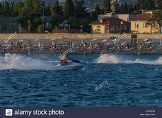 Download this stock image: Aquabike, Sochi, Russia. - GTR3TW from Alamy's…