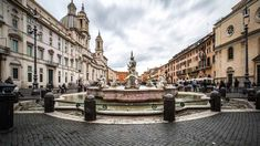 View of Piazza Navona from the Moor Fountain
