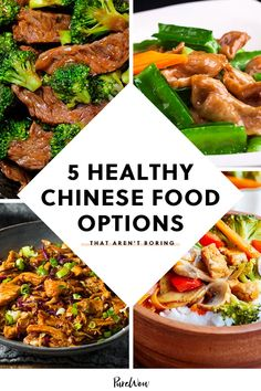 5 Healthy Chinese Food Options That Aren't Boring Steamed Broccoli food ideen ideas food food food Healthy Chinese Food Options, Chinese Food Take Out, Keto Chinese Food, Chinese Dinner, Healthy Options, Korean Food, Healthy Cooking, Healthy Eating, Cooking Recipes