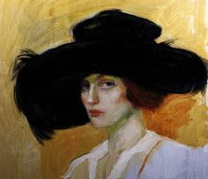 Paintings Of Women In Hats | Recent Photos The Commons Getty Collection Galleries World Map App ...