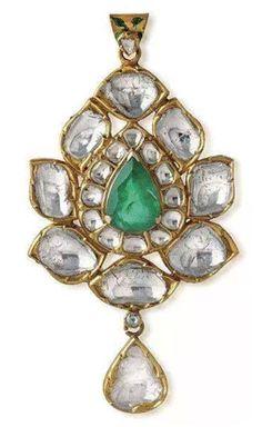 Uncut Diamond Jadau Pendent,Mumbai Maharashtra - India