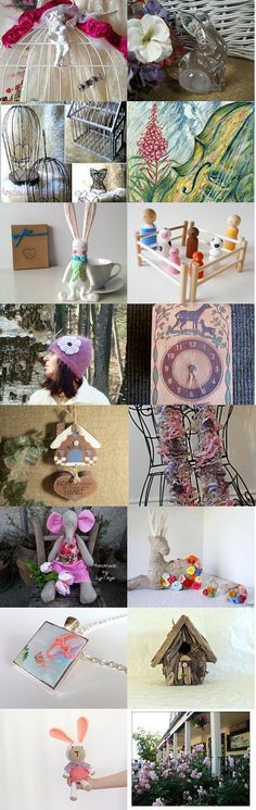 Don't cage me up! by Rosy B on Etsy--Pinned with TreasuryPin.com