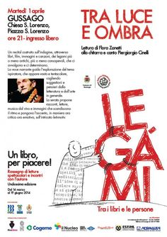 """Martedì 1 aprile """"Tra luce ed ombra"""" - http://www.gussagonews.it/aprile-tra-luce-e-ombra-gussago-2014/"""