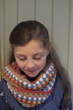 Cath Kidston inspired cowl available to purchase @ Little Black Barn https://www.facebook.com/LittleBlackBarn