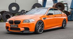 This Fire Orange BMW M5 Develops 818HP, Courtesy Of Carbonfiber Dynamics