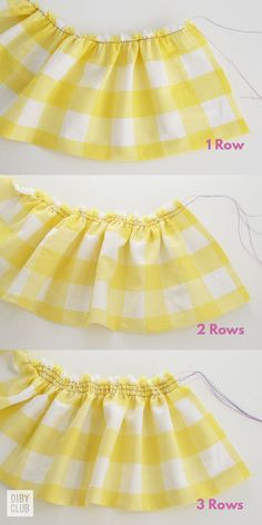 how to gather fabric # Sewing Techniques Couture Learn How to Gather Fabric Like a Boss - The DIBY Club Sewing Patterns Free, Free Sewing, Clothing Patterns, Dress Patterns, Free Pattern, Pattern Sewing, Quilt Patterns, Sewing Basics, Sewing Hacks