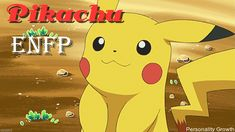 Pikachu is imaginative and outgoing. He is also caring and extremely emotionally driven. Pikachu feels deeply, and desires to make the people around him happy and pleased with his actions. He has an infectious and fun personality, that is hard to ignore. Pikachu never gives up, and always has some fight left in him for the things that truly matter. He is very kind, but no one messes with his friends!