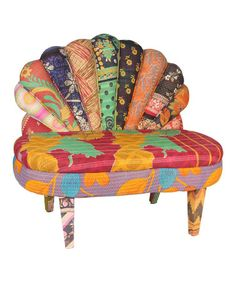 Global Inspiration Ura Peacock Love Chair By Karma Living On Zulily